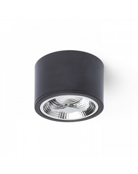 LAMPA STROPOWA REDONDO CZARNY 1xAR111 GU10 ML5698 MILAGRO