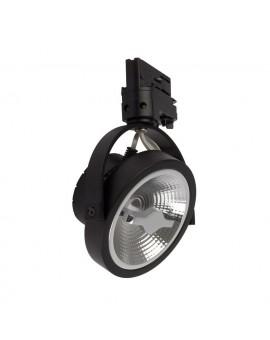 LAMPA NA SZYNĘ LUGAR CZARNY 1xAR111 GU10 ML5702 MILAGRO
