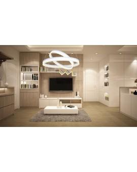 LAMPA WISZĄCA RING 60W LED ML065 Milagro