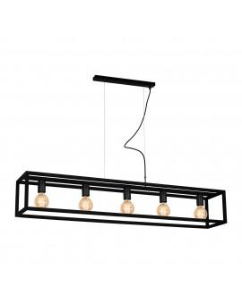 Lampa wisząca CAGE BLACK 5xE27 MLP5560 Milagro