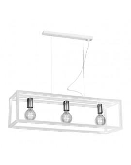 Lampa wisząca CAGE WHITE 3xE27 MLP5562 Milagro