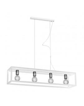 Lampa wisząca CAGE WHITE 4xE27 MLP5563 Milagro
