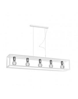 Lampa wisząca CAGE WHITE 5xE27 MLP5564 Milagro