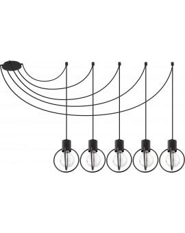 Lampa Zwis Aura koło 5 czarny mat 31086 Sigma