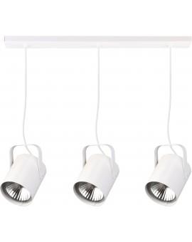 BLACK FRIDAY Lampa Zwis Flesz E27 3 biały E27 31150 Sigma