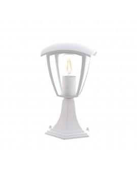 Lampa zewnętrzna stojąca FOX WHITE Mała EKO3513 Milagro
