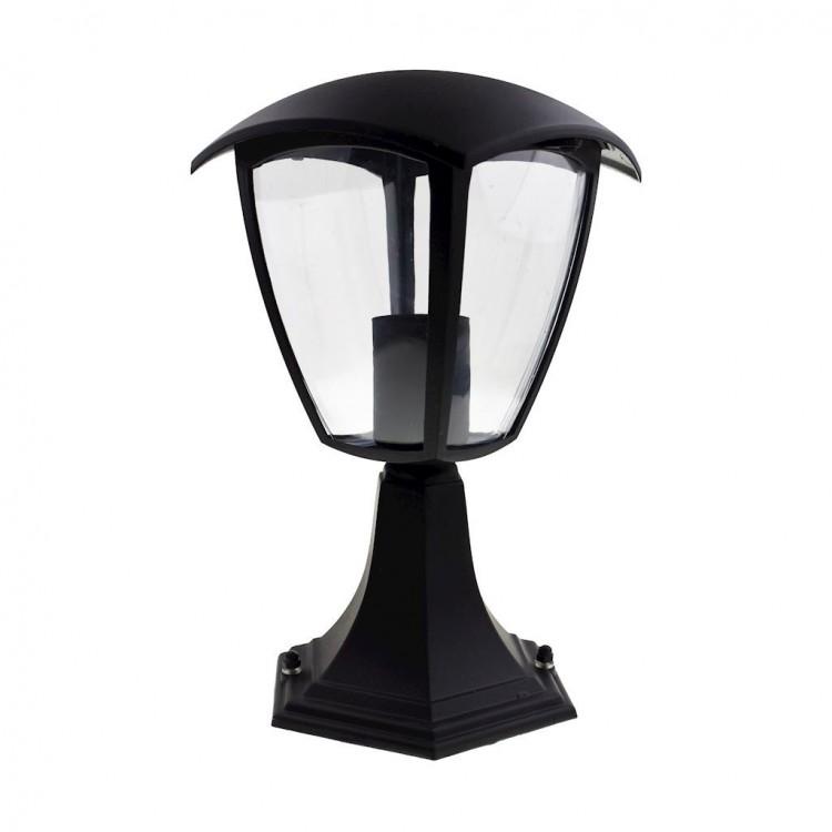 Lampa zewnętrzna stojąca FOX BLACK Mała EKO3551 Milagro
