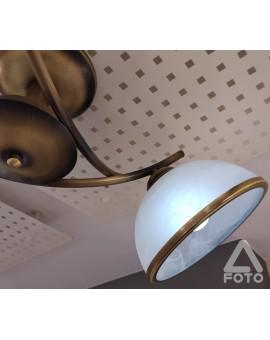 Plafon klasyczny Altea O2233 W3 patyna Lemir