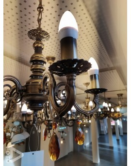 Lampa Żyrandol Antares O1315/W5 Lemir