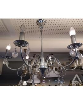 Lampa Żyrandol Velio O1956 CH Lemir