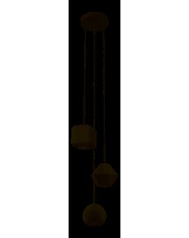 LAMPA ZWIS INDUSTRIALNY GEOMETRIC III 9695 NOWODVORSKI