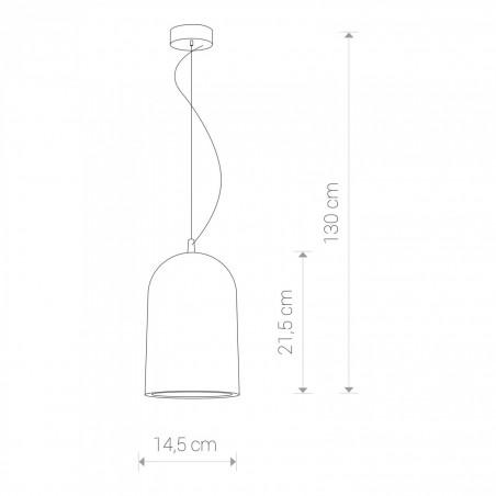 Lampa Zwis nowoczesny LAVA 6855 Nowodvorski