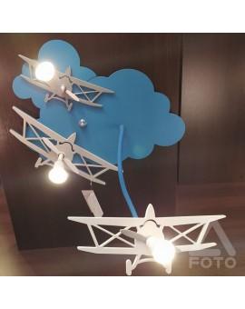 Lampa Plafon dziecięcy PLANE 6904 Nowodvorski
