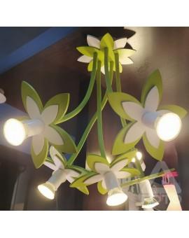 Lampa Plafon dziecięcy FLOWERS GR 6901 Nowodvorski
