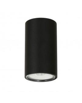 LAMPA PLAFON 1 PŁ. ARES BLACK 1043PL_G1 ALDEX