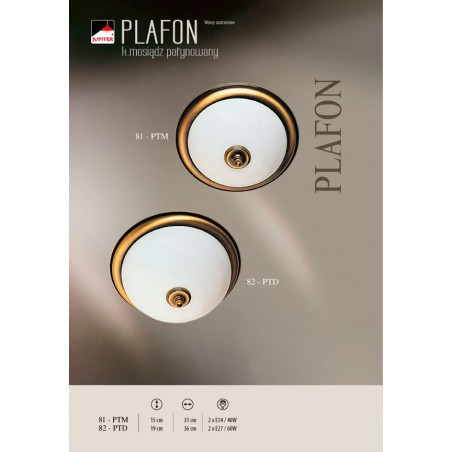 Plafon klasyczny PLAFON PT-D 82 Jupiter