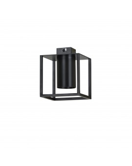 LAMPA SUFITOWA KLATKA TIPER 1 CZARNY 975/1 EG