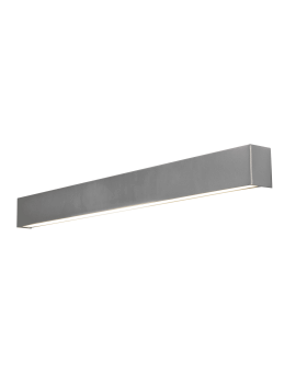 KINKIET STRAIGHT WALL LED SILVER M 9614 NOWODVORSKI