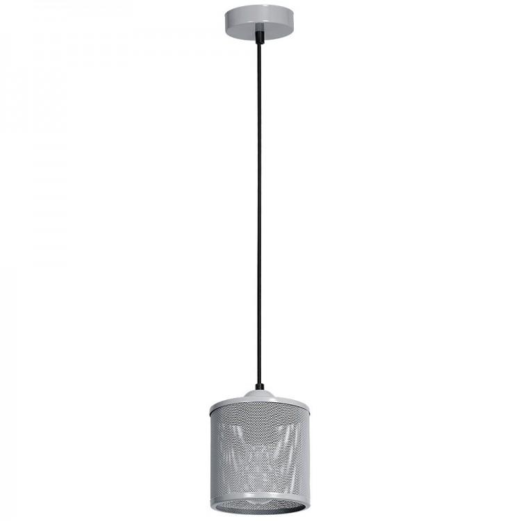 BLACK FRIDAY LAMPA ZWIS SIATKA LOUISE SZARY MLP641 Milagro