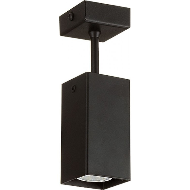 Lampa sufitowa FAN 10 czarna 18606 Sigma