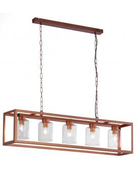 LAMPA ŻYRANDOL MACARI 1804 JUPITER