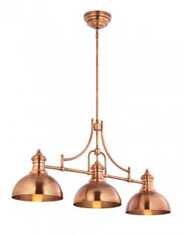 LAMPA ŻYRANDOL PLATINO 1791 JUPITER