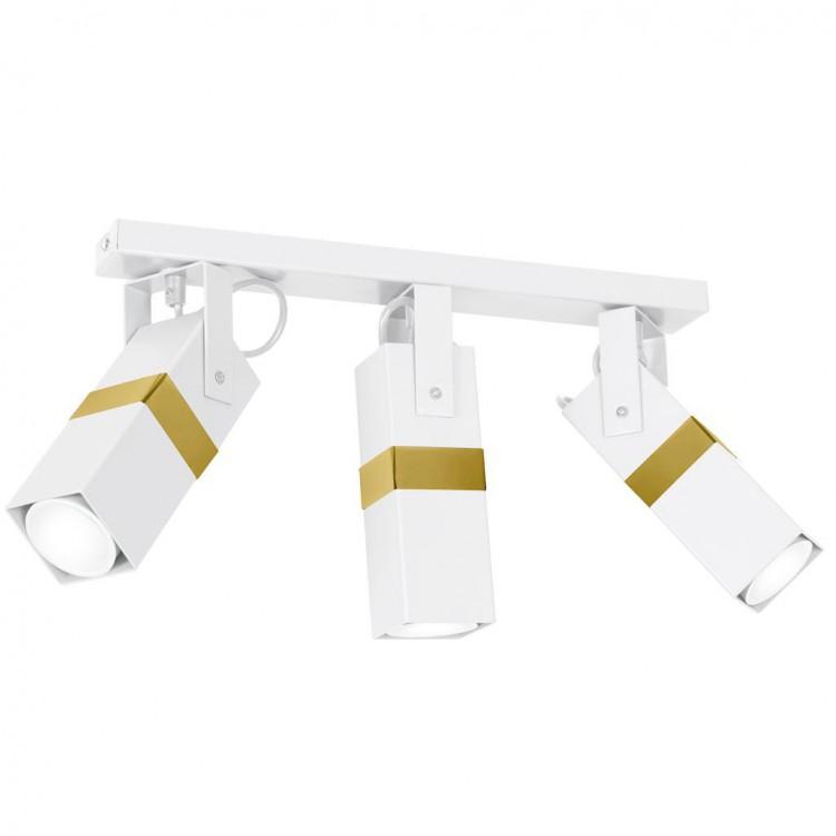 Lampa sufitowa VIDAR WHITE/GOLD MLP6274 Milagro