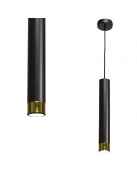 Lampa wisząca DANI BLACK/GOLD MLP6239 Milagro