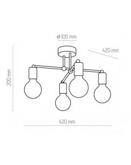 LAMPA SUFITOWA RETRO 1904 TK LIGHTING