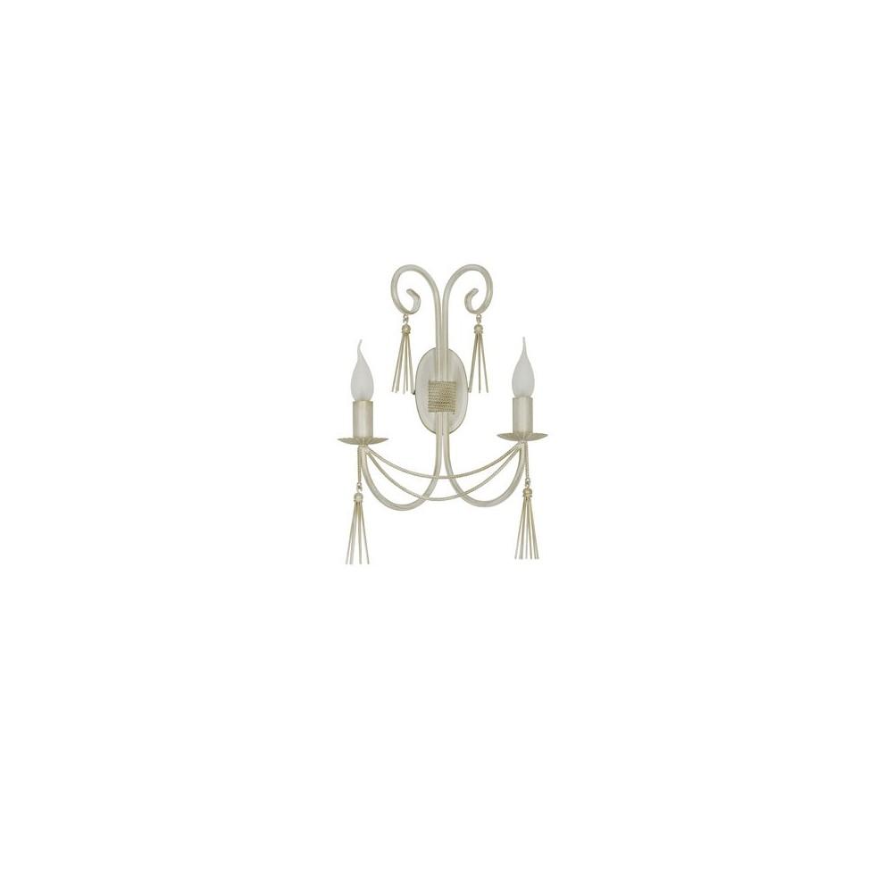 Kinkiet klasyczny TWIST white 2Pł 4981 Nowodvorski