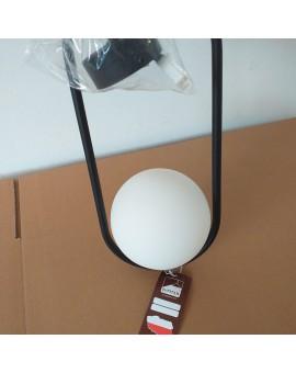 Modern Hanging lamp with glass globe shade golden finish IGON IG-1 CZ 1726 Jupiter