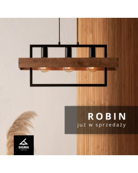 ROBIN 32217 SIGMA - MODERN HANGING LAMP PENDANT LIGHT