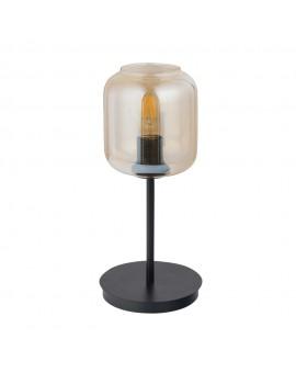 SHINE 50257 SIGMA LAMPA STOŁOWA CZARNY/BURSZTYNOWY