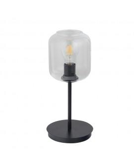 SHINE 50258 SIGMA LAMPA STOŁOWA CZARNY/TRANSPARENTY