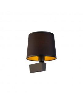 KINKIET LAMPA ŚCIENNA CHILLIN BLACK I BL/G 8197 NOWODVORSKI