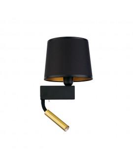 KINKIET LAMPA ŚCIENNA CHILLIN BLACK II BL/G 8213 NOWODVORSKI