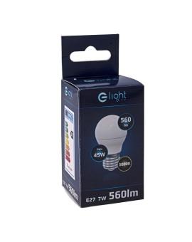 ŻARÓWKA LED 7W E27 G45 Barwa Ciepła EKZA1465 MILAGRO