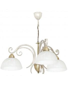 Lampa sufitowa Żyrandol Aurora white 3Pł 5973 Luminex
