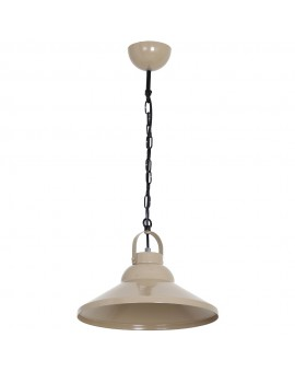 Zwis Żyrandol Iron beige 1Pł 6182 Luminex