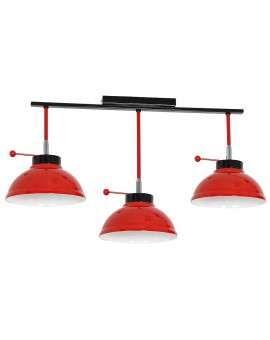Plafon Factor red 3Pł 6151 Luminex