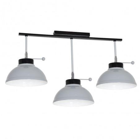 Lampa sufitowa Plafon Factor grey 3Pł 6165 Luminex
