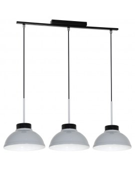 Żyrandol Factor grey 3Pł 6167 Luminex