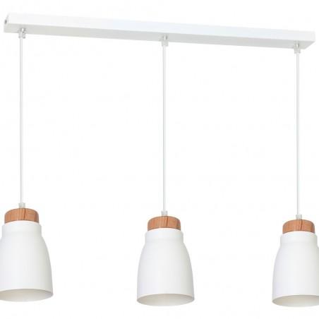 Lampa sufitowa Zwis Agnis biały 3Pł 7425 Luminex