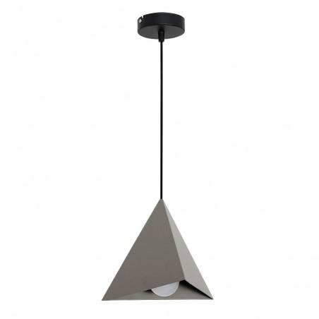 Lampa sufitowa Zwis Żyrandol Set szary 1Pł 7418 Luminex