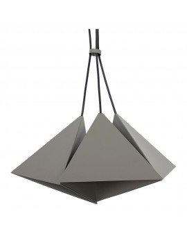 Lampa sufitowa Zwis Żyrandol Set szary 3Pł 7420 Luminex