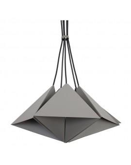 Lampa sufitowa Zwis Żyrandol Set szary 5Pł 7422 Luminex