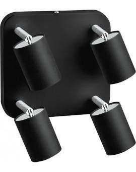 Spot Plafon EYE SPOT BLACK 4Pł 6022 Nowodvorski