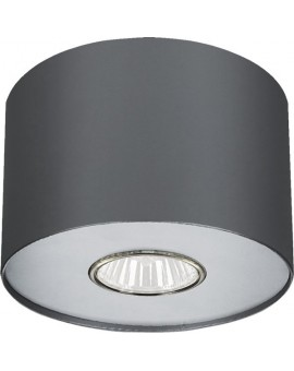 Lampa stropowa Plafon POINT GRAPHITE S 1Pł 6006 Nowodvorski