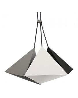 Lampa sufitowa Zwis Żyrandol Set czarny 3Pł 7414 Luminex